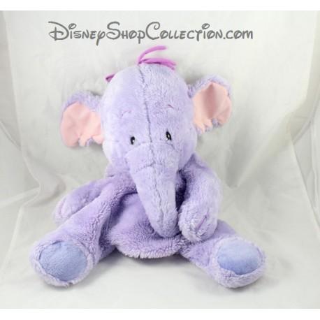 Range pyjama peluche l phant lumpy disney jemini mauve - Pyjama elephant ...