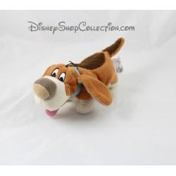 Peluche Toby chien DISNEY STORE Basil détective privé 20 cm