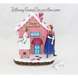 Figurine compte à rebours DISNEYLAND PARIS La Reine des Neiges calendrier de l'avent Noel Disney 20 cm
