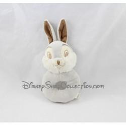 Plush rabbit rattle Thumper DISNEY NICOTOY Bambi gray