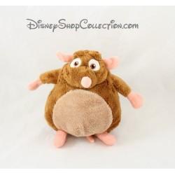 Peluche Emile rat GIPSY Disney Ratatouille marron 18 cm