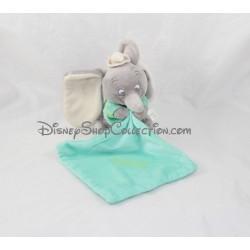 Doudou mouchoir Dumbo DISNEY NICOTOY vert luminescent brille dans le noir