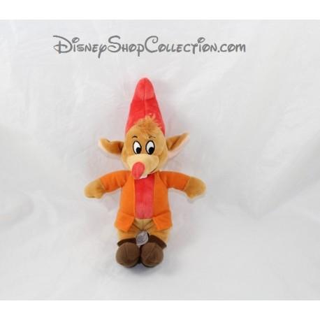 Plush Jack mouse DISNEY Cinderella Quiron Famosa orange 25 cm