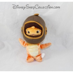 Stuffed fish DISNEY STORE Chicken Little fish helmet 22 cm