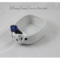 Vide poche ancien Minnie WALT DISNEY Company céramique blanc