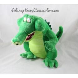 Peluche sonore Tic Tac le crocodile DISNEYLAND PARIS Peter Pan 31 cm