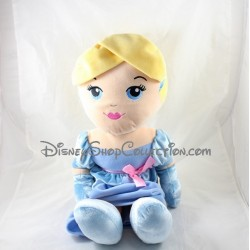 Poupée peluche Cendrillon DISNEY NICOTOY robe bleue Cinderella 60 cm