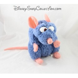 Peluche Rémy rat DISNEYLAND PARIS Ratatouille Disney bleu 25 cm