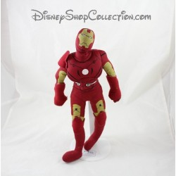 Peluche Iron Man PLAY BY PLAY Marvel super héros rouge jaune 35 cm