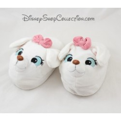 Slippers Mary DISNEYLAND PARIS Les Aristocats node white cat pink Disney size 27/30