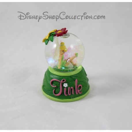 Snow globe fairy Tinker Bell DISNEYLAND PARIS little Tink Tinker Bell 8 cm snow globe