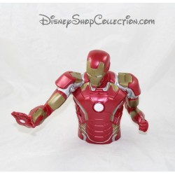 Tirelire super héros MARVEL Iron Man grande figurine buste Pvc 19 cm