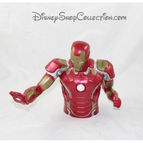 Tirelire super héros MARVEL Iron Man grande figurine buste Pvc 19 cm