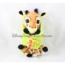 Peluche girafe DISNEYLAND PARIS bébé Disney Babies Le Roi lion 27 cm
