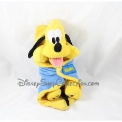 Peluche chien Pluto DISNEYLAND PARIS couverture bébé 29 cm