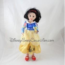 Poupée articulée Blanche Neige ZAPF DISNEY robe bleu jaune 35 cm