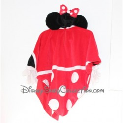 Poncho Minnie DISNEYLAND PARIS capuche oreilles Disney 3/4 ans