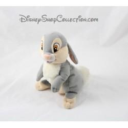 Peluche lapin Pan Pan DISNEY gris blanc oreilles en arrière Panpan 16 cm