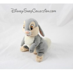 Plush rabbit Thumper DISNEY gray white ears back 16 cm