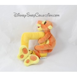 Hochet Tigrou DISNEYLAND PARIS orange jaune papillon