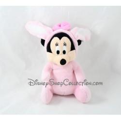 Plush Minnie DISNEY NICOTOY Easter rabbit pink