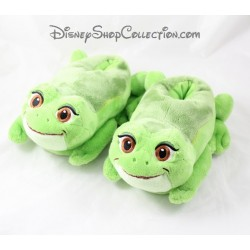 Slippers the Princess and the frog DISNEY STORE child green shoe size 23/24