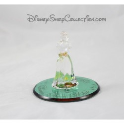 Figurine glass DISNEYLAND PARIS Disney 8 cm Collection glass base snow white