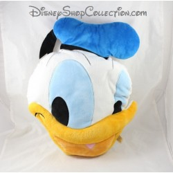 Donald DISNEY STORE duck head cushion big face cushion 45 cm