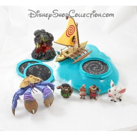 toy sound ship projection star disney store vaiana figurines disneys. Black Bedroom Furniture Sets. Home Design Ideas