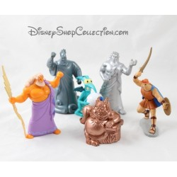 6 Hercules DISNEY Hercules Zeus Phil pvc figurines lot