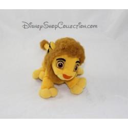 Peluche lion Simba DISNEY HASBRO Le Roi lion jeune lion 15 cm
