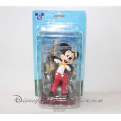 Figurine Mickey DISNEYLAND PARIS sur présentoir et carte dédicacée 15 cm