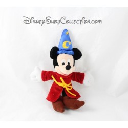 Keychain plush Mickey DISNEYLAND PARIS magician Fantasia hat 22 cm