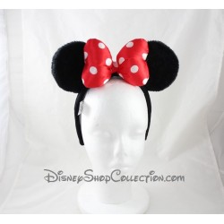 Orejas de Minnie DISNEYPARKS de diadema de lazo de Minnie Mouse roja