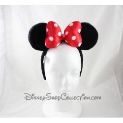 Serre-tête Minnie DISNEYPARKS oreilles de Minnie Mouse noeud rouge