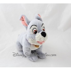 Peluche chien DISNEYLAND PARIS La Belle et le Clochard Scamp 19 cm