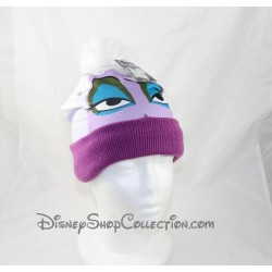 Beanie Ursula DISNEYLAND PARIS The little mermaid adult hat in purple wool Disney