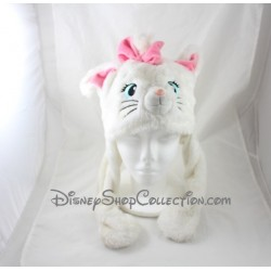 Marie cat bonnet DISNEYLAND PARIS The Aristocats articulated ears pink white Disney