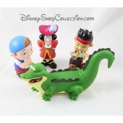 Jouets de bain Jake et les pirates DISNEY STORE lot de 4 figurines pvc