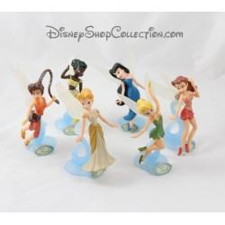 Playset les fées DISNEY STORE fée Clochette lot de 6 figurines pvc