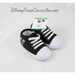 Mickey Mouse baby shoes DISNEY BABY black white 9/12 months
