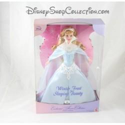 Aurora DISNEY MATTEL Winter Frost beauty doll sleeping beauty Collector Dolls