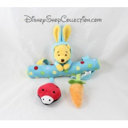 Jouet d'éveil à suspendre Winnie l'ourson DISNEY NICOTOY déguisé en lapin