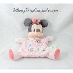 Doudou marionnette Minnie Mouse DISNEY BABY étoile planètes