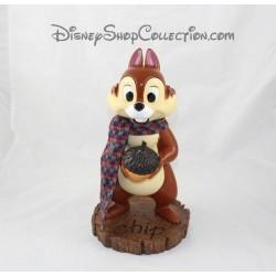 Figurine articulée écureuil DISNEY STORE Tic et Tac résine gland 28 cm