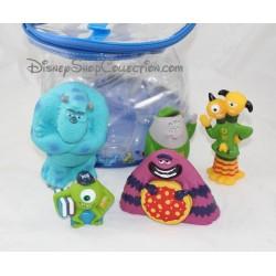 Jouet de bain DISNEY Monstres et Cie lot de 5 figurines pvc