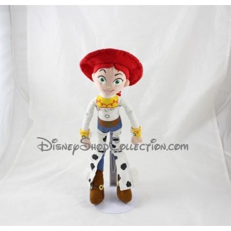 Peluche poupée Jessie DISNEY NICOTOY Toy Story Cow Boy 33 cm