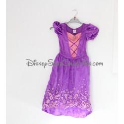 Déguisement robe Raiponce DISNEY PRINCESS robe violette 5/6 ans