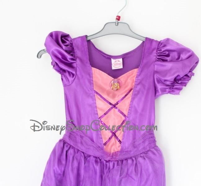Ans Robe Raiponce Princess Déguisement Violette 56 D Disney FKTlu1c35J