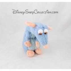 Peluche Rémy rat DISNEY STORE Ratatouille Disney bleu 22 cm